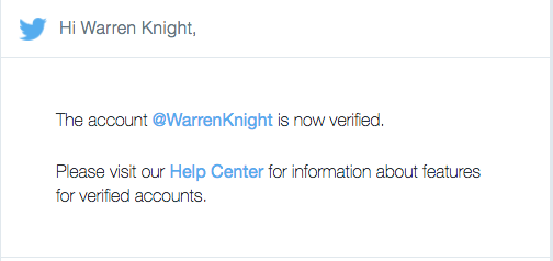 Warren Knight Verified